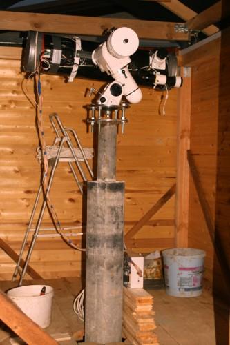 Телескоп на переходнике