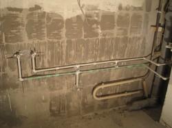 Трубы к смесителям (сварено своими руками)