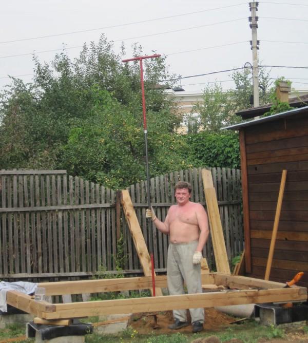 Бур садовый удлиненный